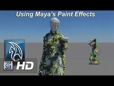 Maya Paint Effects Tutorial: Growing Animated Vines (Part 1) - YouTube