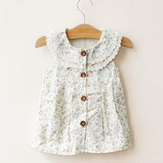 Adorable floral top available soon!