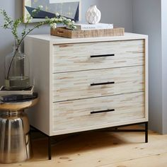 Home Decor is trending right now on ShopStyle. Click to see more of this West Elm wooden dresser