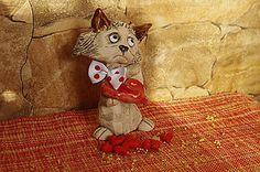 Socha - mačička so srdcom - 6284193_