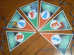 Bandeirolas personalizadas #slugterra #slugterrâneo