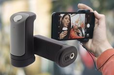 ShutterGrip is like a more portable remote selfie stick