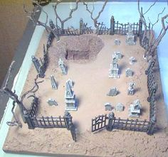 Building the Gothic Graveyard                                                                                                                                                                                 More
