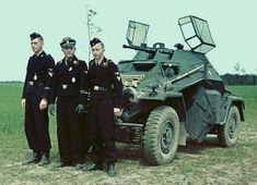 German Soldiers Ww2, German Army, Military Photos, Military History, Luftwaffe, North African Campaign, Armored Vehicles, Armored Car, Germany Ww2