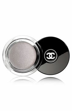 From Shop The Video: Beauty Mark—Hanneli Mustaparta's Decorative Glitter Eye Makeup  Chanel Illusion D'Ombre Long Wear Luminous Eyeshadow in Fantasme, $36