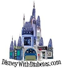 Take a close look at this castle - it's made from diabetes supplies!!!
