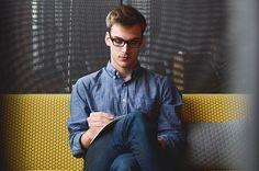 Entrepreneur Startup Start-Up Man Planning