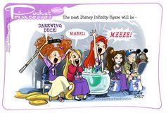 Pocket Princess no. 160 #Merida #Repunzel #Ariel