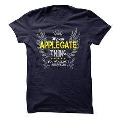 If your name is APPLEGATE then this is just for you