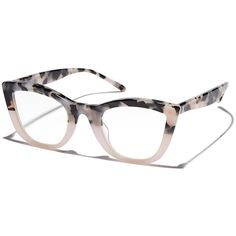VALLEY Ludwig Optical Glasses Pink Cotton ($145)