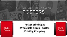 Are you planning to impress customers with Poster for products? Then Axis Flyers Company is one of the most trusted Poster Printing Company who offering quality posters printing services at low cost. Read More: http://www.axisflyers.com/Poster-printing-s/2.htm
