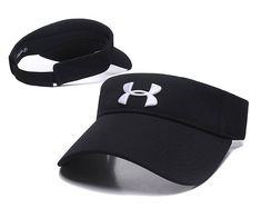 Under Armour Golf Tennis Hats Sun Visor Black 089 2dbf72f3f86a