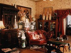 Eclectic Victorian Psychic Living Room Set Decorator Rick Romer, TV, Hawaii by Rick Romer, via Flickr