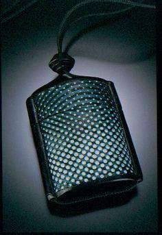 Gwen Gibson 2001 Inro Box Pendant (silkscreened)