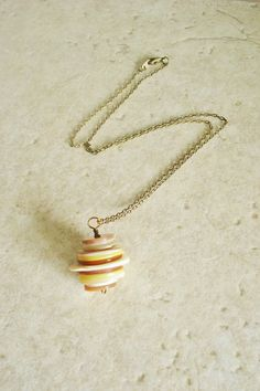 MOP shell stacked pendant necklace, mother of pearl, natural jewelry, layers, seashell, boho, mermaid jewelry