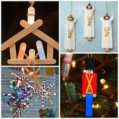 Christmas Popsicle Stick Crafts for Kids - Kids Art & Craft