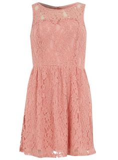 Pink sweet lace skater? @Brittany Martinez affordable for bridesmaids?