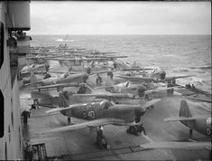 Implacable   Downloaded from the IWM site under the followin…   Flickr Hms Illustrious, Royal Navy Aircraft Carriers, Hms Hood, Flight Deck, Navy Ships, Submarines, British History, Water Crafts, Battleship