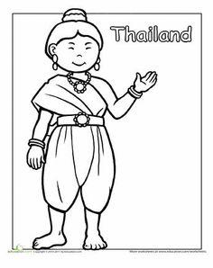 Vrouw Thailand