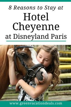 8 reasons to stay at Disney's Hotel Cheyenne at Disneyland Paris: walking distance of Walt Disney Studios & #Disneyland theme parks, Wild West theme, frontier themed dining & saloon, pony rides, #ToyStory Woody rooms, extra magic hours, winner of best #France family hotels, value prices up to 33% off #HotelCheyenne #DisneylandParis #Disney #WildWest #ponyride #Paris #Familytravel #Familyholiday #Disneyfan #DLP #WaltDisneyStudios #holiday #Marvel #Disneyfan #Disnerd #Disneylife #Disneytips