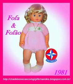 Boneca Fofa, Estrela, 1981