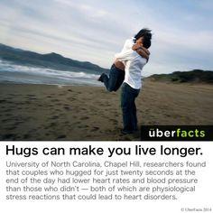Goo and hug someone