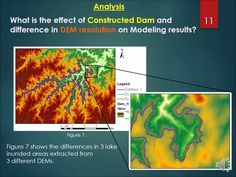 ArcGIS 10.3: Reservoir Modeling and assessment of its impact on physical environment