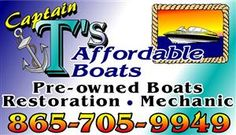 Captain T's Affordable Boats