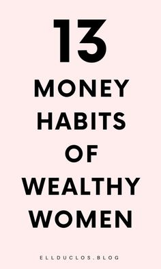 13 Money Habits Wealthy Women Practice Daily - Money Tips Ways To Save Money, Money Tips, Money Saving Tips, Money Saving Challenge, Motivational Words, The Hard Way, Financial Tips, Budgeting Tips, How To Stay Motivated