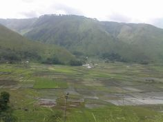 Sagala village, view from Pushuk Buhit