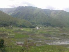 Sagala village, view from Pushuk Buhit