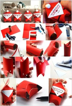 10 Fabulous Paper Roll Crafts for the Christmas