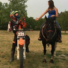 Motocross couple Dustin Wollman & Bridgette Twite