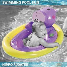 The cutest inflatable swimming ring. Let your little swimmer have fun this summer! Baby Float, Little Swimmers, Water Toys, Top 5, Child Safety, Rafting, More Fun, Summertime, Swimming
