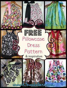 FREE Pillowcase Dress Pattern & Inspiration