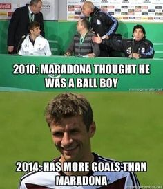 Thomas Müller, everyone. And he's only 24 (via @NeuerReactions)