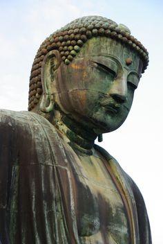 Le Daitbutsu - bouddha géant de Kamakura au Japon