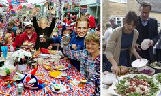 Boddingtons and crisps versus quiche and rocket: A tale of two very different street parties (and it won't take a genius to figure out which one the Prime Minister attended? Boddingtons, Prime Minister, Quiche, Crisp, Take That, Parties, Street, Celebrities, Ethnic Recipes