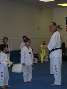 Ever heard of white, black or brown belt? At the Ultimate Martial Arts Academy, we have these Taekwondo ranks and more! Do you have any Taekwondo belts or ranks?