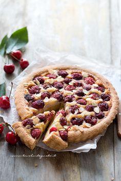Soft Tart with Cherries - Crostata morbida di Ciliegie (Facile e Veloce)