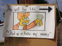 Getting ready to have a yard sale? You can make more money at your yard sale by having good signage. Check out these 20 funny yard sale signs! Yard Sale Signs, Garage Sale Signs, For Sale Sign, Sell Your Stuff, Things To Sell, Rummage Sale, Funny Signs, Craft Fairs, Making Ideas