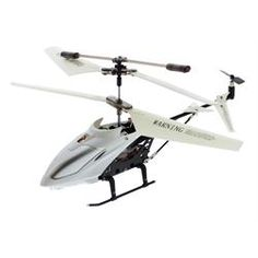 Artic White iPhone® Controlled RC Helicopter - Distributed By MCM Part #: WHT-MINI-HELICOPTER