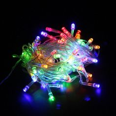 New Year Promotion 100 LEDS LED String Lights 10M 110V/220V for Clear Wire Christmas X'mas Holiday Lights Home Party Decoration Online with $5.76/Piece on Ok360's Store | DHgate.com