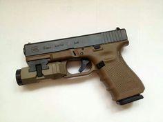 Glock 19 w/Inforce APL