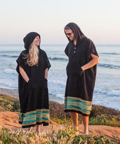 Make your life easier. Get a poncho. This surf changing poncho makes changing in and out of your wetsuit about a thousand times better. Comfortable full coverage in those important places. Surf Poncho, Surfergirl Style, Wetsuit, Mens Poncho, Surf Accessories, Blue Chevron, Swimwear Fashion, One Size Fits All, One Piece Swimsuit