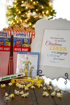 Great for anyone on your list! Who doesn't love movie night?! This gift can be easily customized and if you don't know what kind of movie the giftee likes, get them a Redbox gift card or Netflix gift subscription!