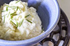 My Paleo Marin : Cauliflower Mashers