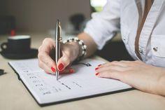 Escrito, Escrever, Tabela, Caneta, Papel, Negócios, Mão