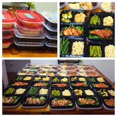 #mealprep #mealprepsunday  Ok so I know it's Friday but it's our Sunday as the hubby works weekends. Boom! Clean easy and fast meals for days! #buffalochicken #asianchicken  #mexicanchicken #blackpepperchicken  #teriyakishrimp  #blackenedtilapia Fresh #asparagus #greenbeans  #spinach and #sweetpotatoes #grilledzucchini  #blackbeans  #collardgreens  #quinoa  #brownrice  #cleaneating #cleanfoodporn #jennasjourneyto101 by jennas_journey_to_101