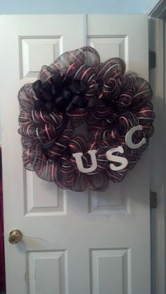 Mesh Wreath -- University of South Carolina 2 $40